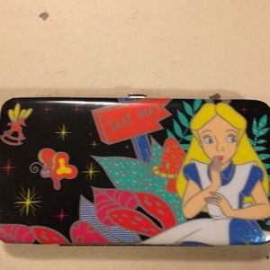 Bags - Alice in Wonderland hard to find wallet- Hot Topic